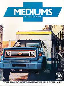 1976 Chevrolet Chevy Truck CE65 CD Sales Brochure Book