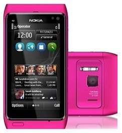 Nokia N8 Unlocked GSM Smart Phone GPS 16gb HOT PINK NEW 758478024515