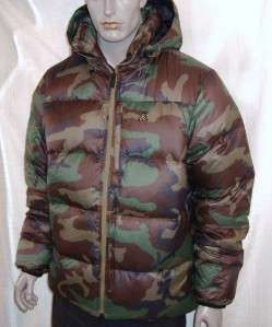 Nike ACG 800 Fill Lava Flow Camo Down Mens Jacket $250 / SICK