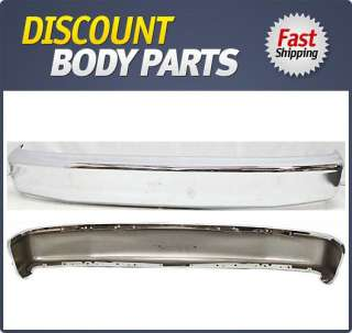 F2TZ17757A Front Bumper New Truck Chrome Ford F 150 96 95 94 93 92 F