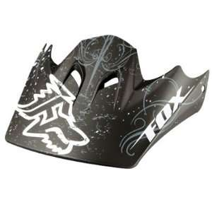 Fox Racing Rampage Helmet Visor Matte Black No Size