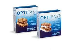 NEW SEALED BOXES of the OPTIFAST PEANUT BUTTER BARS SUPER FRESH