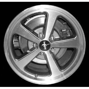 03 04 FORD MUSTANG ALLOY WHEEL (PASSENGER SIDE)  (DRIVER RIM 17 INCH