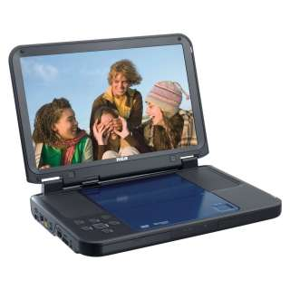 RCA DRC6331B Portable DVD Player with 10 Inch LCD Screen (Open Box