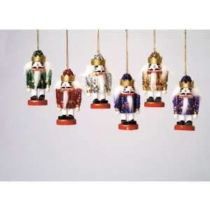 Club Pack of 36 Sequined Christmas Nutcracker Ornaments 4