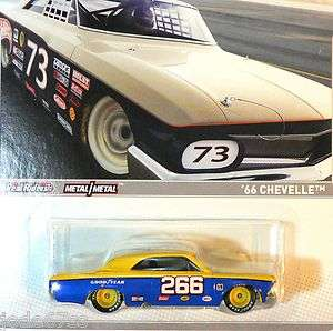 Hot Wheels 2012 RACING   STOCK CAR / VINTAGE RACING  66 Chevelle   E