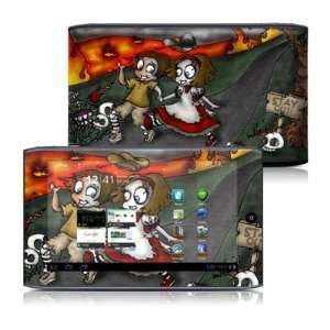 Burning Love Design Protective Decal Skin Sticker for Acer Iconia Tab