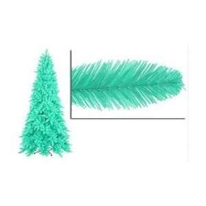 9 Pre Lit Slim Seafoam Green Ashley Spruce Christmas Tree