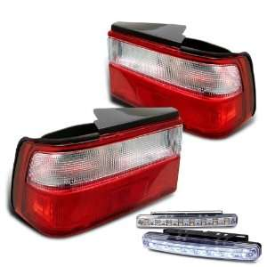 Eautolights 88 89 Honda Accord Tail Lights + LED Bumper