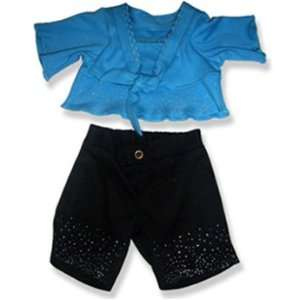 with Black Pants Outfit Teddy Bear Clothes Fit 14   18 Build a bear