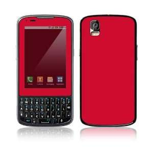 Motorola Droid Pro Skin Decal Sticker   Simply Red