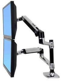 Ergotron LX DUAL Stacking LCD Monitor Arm 45 248 026