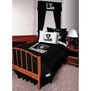 The Oakland Raiders NFL Football Adjustable Window Valance