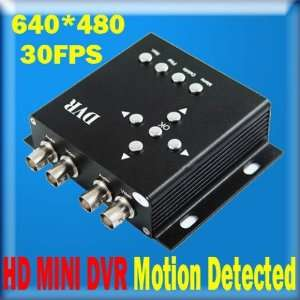 dvr camera video sd card recorder motion detect hd