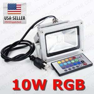 LED outdoor Flood Light with IR remote control Patio, Lawn & Garden