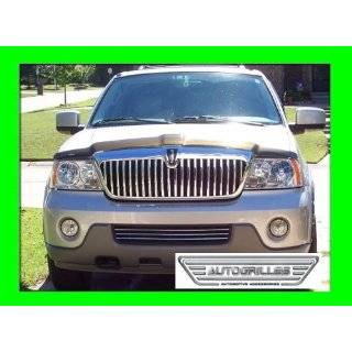 LINCOLN NAVIGATOR 1998 2002 CHROME GRILL GRILLE KIT 1999 2000 2001 98