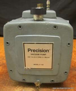 PRECISION VACUUM PUMP MODEL D 150 D150