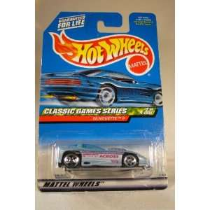 Mattel Hot Wheels Classic Games Series #2 of 4 cars, Silhouette II