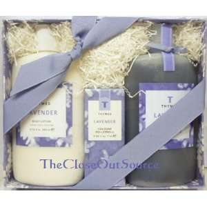 Thymes Lavender Gift Set (Full Size) Beauty