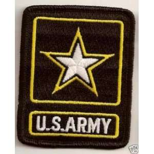 US ARMY BLACK Military Veteran VET Biker Vest Patch