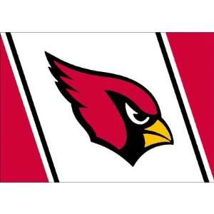 NFL Spirit Arizona Cardinals Football Novelty Rug Size 109 x 132
