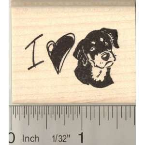 I Love My Dog Rubber Stamp Arts, Crafts & Sewing