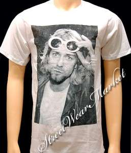 Nirvana Kurt Cobain Rock Music Alternative T shirt Sz M