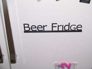Beer Fridge kegerator sign garage drink man cave magnet