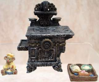 BOYDS BEARS Ms Wangs TREASURE BOX Bonsai TREE 1E 392170
