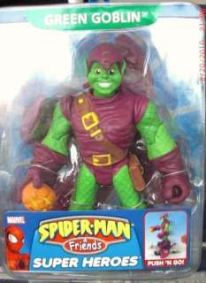 New SPIDER MAN & FRIENDS Green Goblin Push n Go L@@K