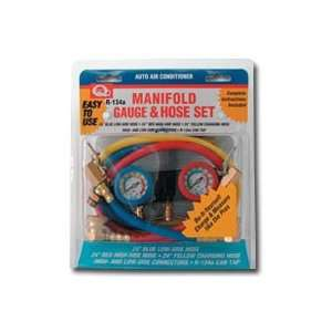 AC R134A Manifold Gauge and Hose Set
