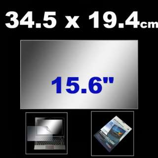 Brand New 15.6 Laptop LCD Screen Protector Skin Cover Film Guard