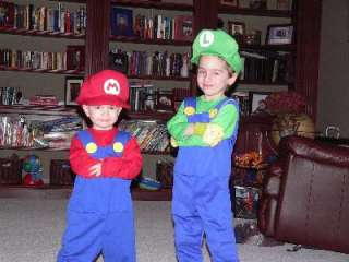 Super Mario Bros. Luigi Toddler/Child Costume, 65025