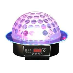 RSQ LMB 10 Sound Activate RGB Color LED Mirror Ball