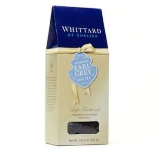 Whittard Black Tea Afternoon Earl Grey Loose Leaf Tea Packet / 125g
