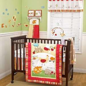CoCo & Company Baby Farm 4 Piece Crib Bedding Set Baby