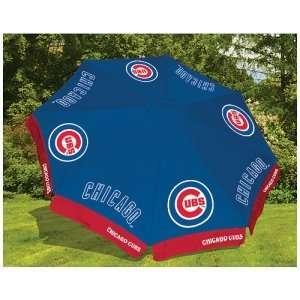 Chicago Cubs MLB 9 Patio Market Umbrella