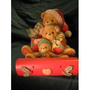 Cherished Teddies LARGE SIZE, Theadore, Samantha, and Tyler