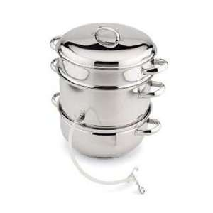 steamer 6 Pc Cookware Pot Includes Lid Steamer/colander Juice Kettle