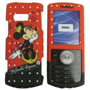 Samsung Messager II/2 R560 Minnie Mouse Red Hard Case/Cover