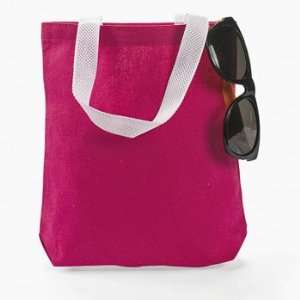Pink Tote Bags   Craft Kits & Projects & Design Your Own Toys & Games