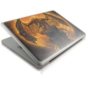 Fire Dragon Vinyl Skin for Apple Macbook Pro 13 (2011) Electronics