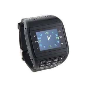 Quad band Dual Sim Standby Watch Cell Phone Cell Phones & Accessories