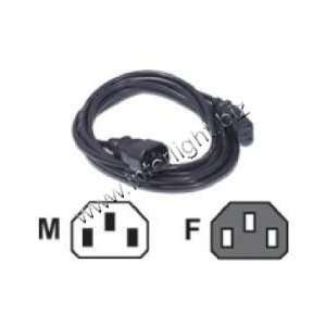 COMPUTER POWER CORD EXTENSION   CABLES/WIRING/CONNECTORS Electronics
