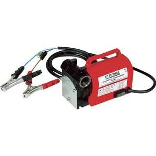 GPM 12V Heavy Duty Fuel Diesel Gas Transfer Pump Patio, Lawn & Garden