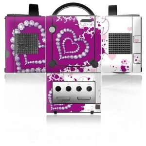 Design Skins for Nintendo Gamecube   Diamond Heart Design