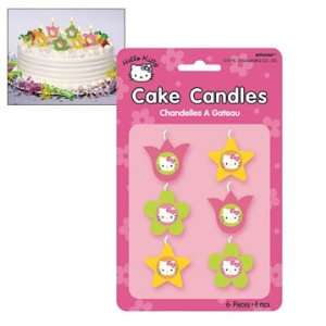 Hello Kitty Mini Cake Candles 6ct Toys & Games