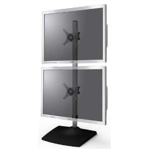 Dual Desk Mount For 2 Computer Monitors, LCD LED TVs And Flat Panel