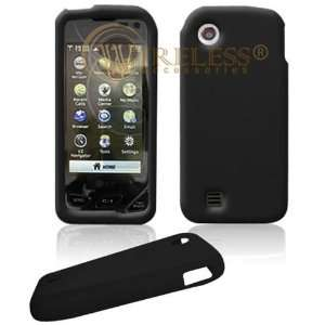 LG Chocolate Touch VX8575 PDA Solid Black Silicon Skin Case