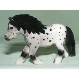 HORSE Shetland Pony APPALOOSA Trots Along New MINIATURE